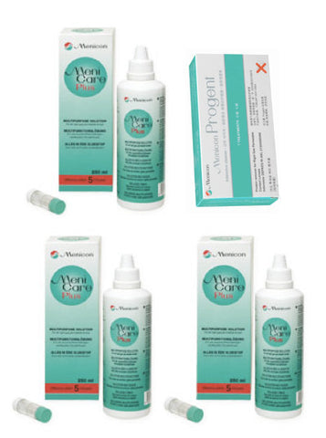 Menicare Plus Value Pack - Contact Lens Solution $86