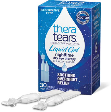 There Tears Liquid Gel - night time dry eye therapy