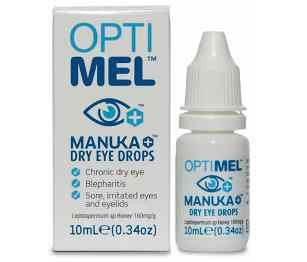 Optimel Antibacterial Manuka Dry Eye Drops