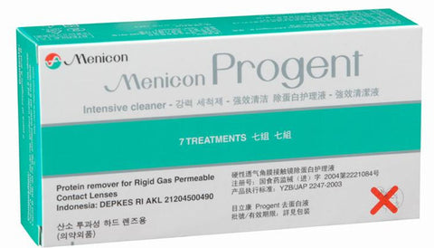 Menicon Progent Contact Lens Cleaner $28.5