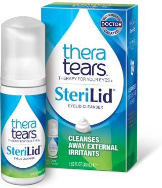 Sterilid Eye Cleanser - Natural, plant-based formula with Tea Tree Oil