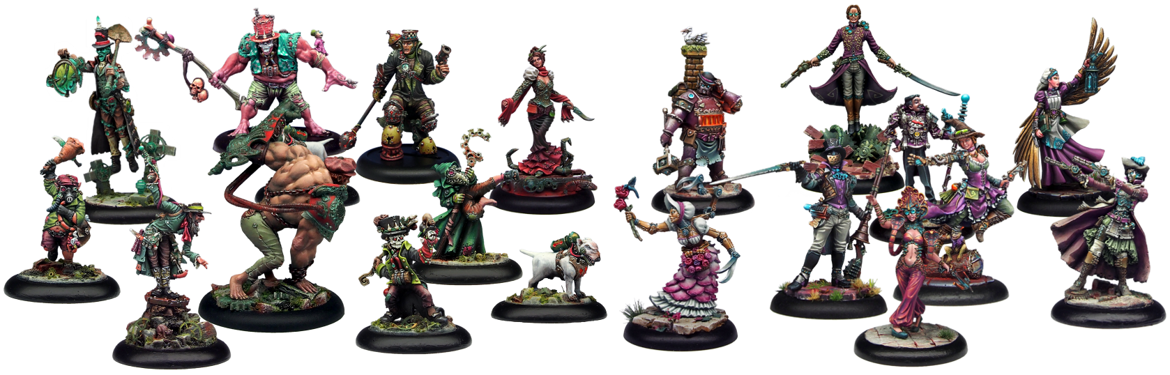 the miniatures demented games