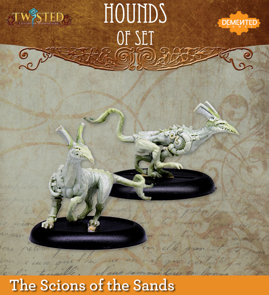 Hounds of Set 2 and 3
