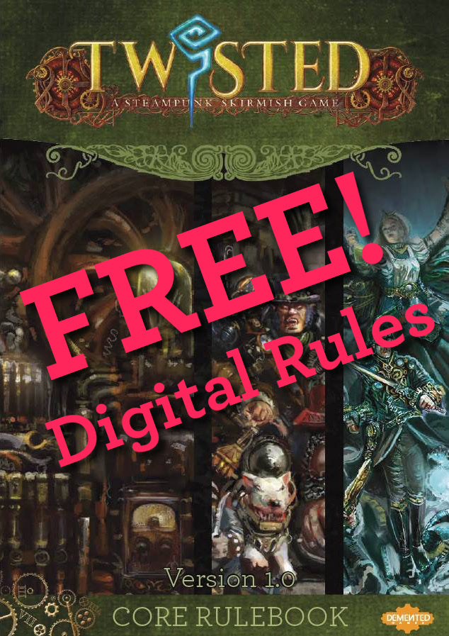Twisted Digital Rulebook - FREE! - Demented Games