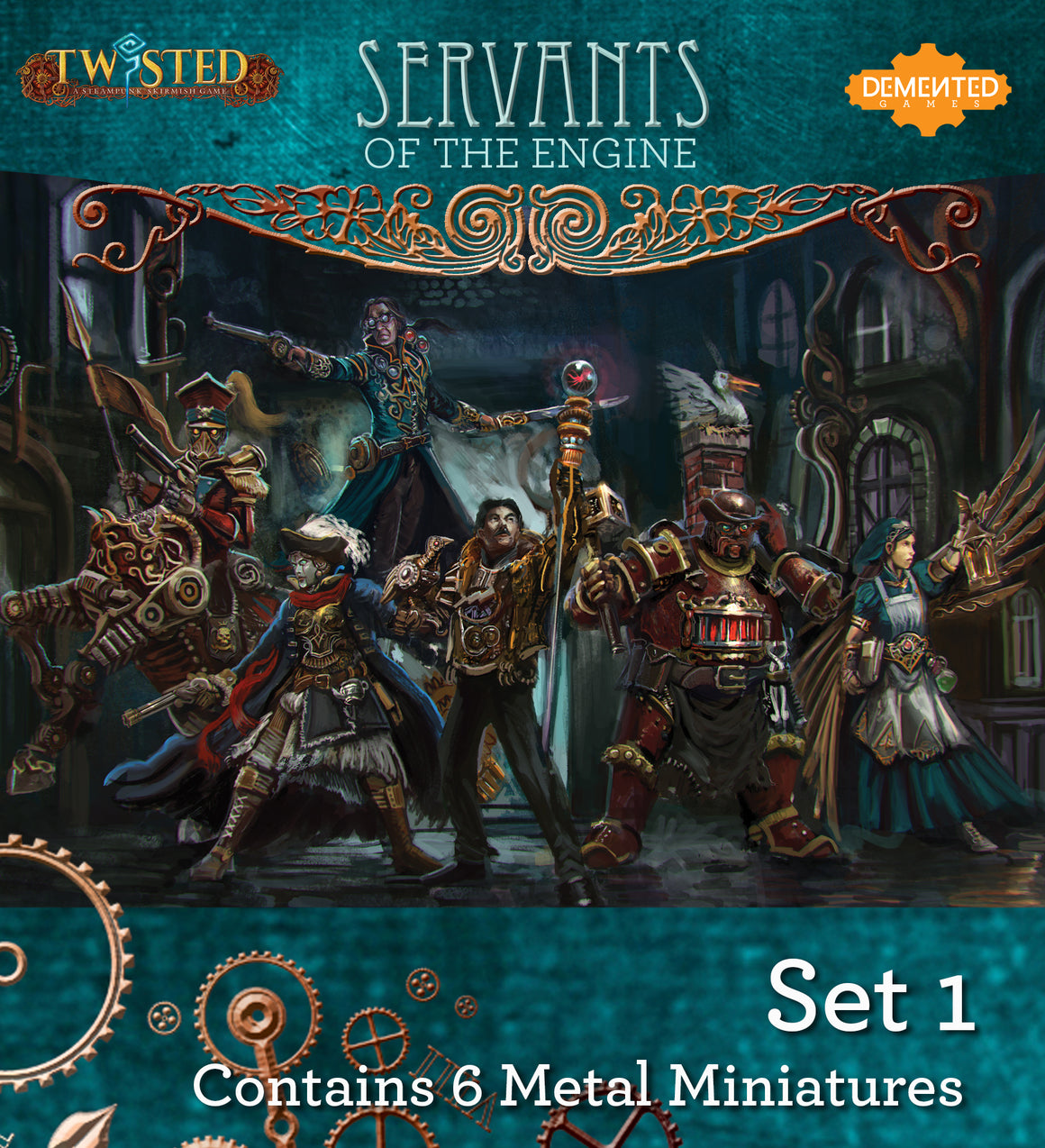 Servants of the Engine Box Set 1