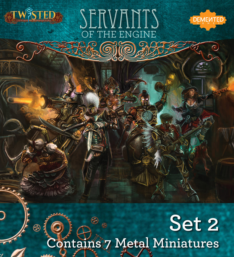 Servants of the Engine Box Set 2