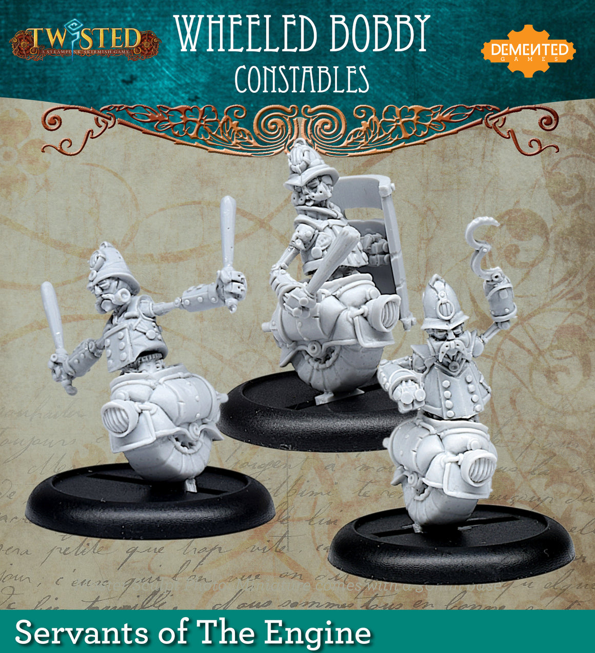 Wheeled Bobbies