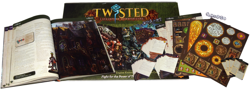Twisted Rulebook Box