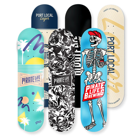 Pirate Life Skate Decks