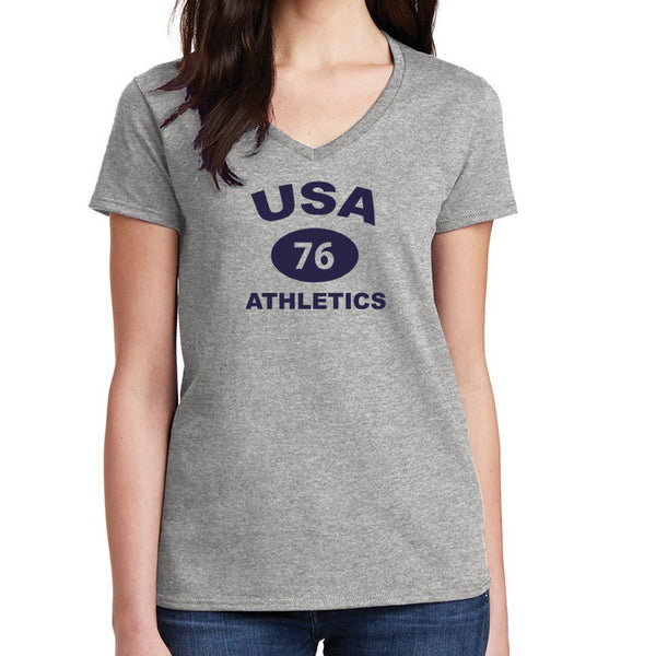 "Women's Property of USA ""76"" Athletics Department T-Shirt"