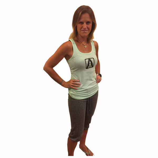 Women's ARS tank-distressed logo