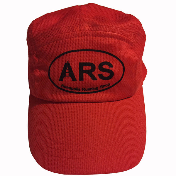 ARS Headsweats Cap-red - Annapolis Running Shop