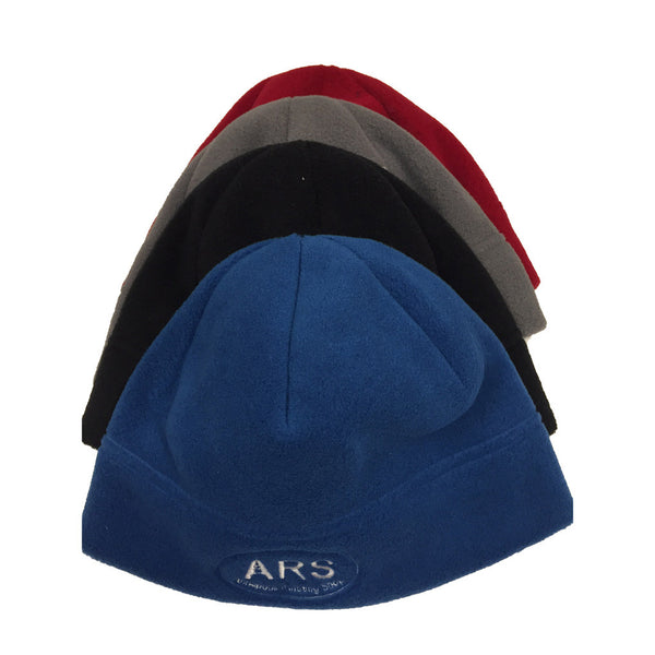 ARS fleece hat by Turtle Fur-Dark colors-Deep Fit