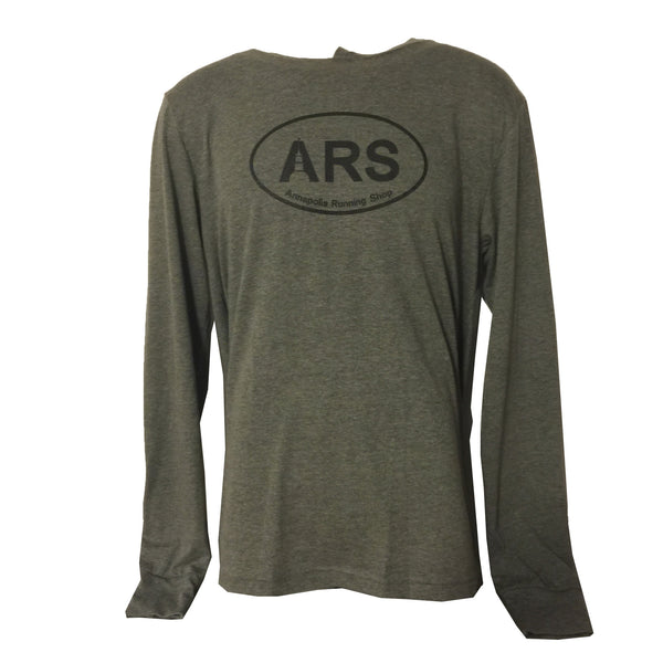 Men's ARS Light Duty Hoodie - Oxford Grey - Annapolis Running Shop
