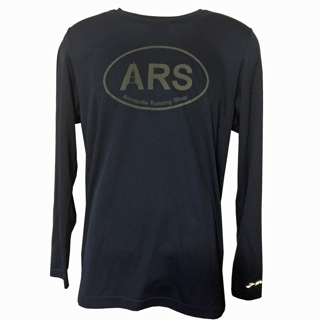 Men's Brooks ARS Technical L/S T-Shirt - Reflective Black