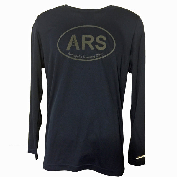 Men's Brooks ARS Technical L/S T-Shirt - Reflective Black - Annapolis Running Shop