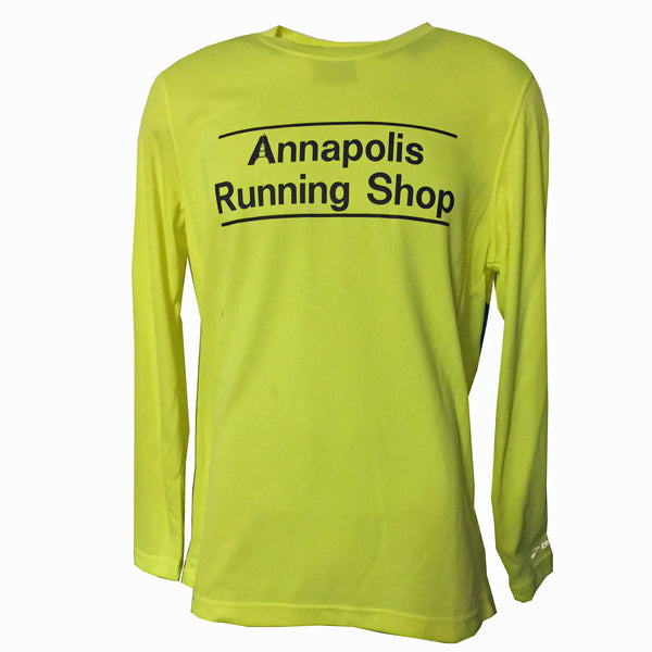 Men's Brooks ARS Technical L/S T-Shirt - Hi Vis Yellow - Annapolis Running Shop