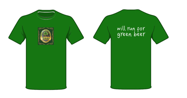 ARS Brooks Unisex Podium Irish Beer Label Shirt - Annapolis Running Shop