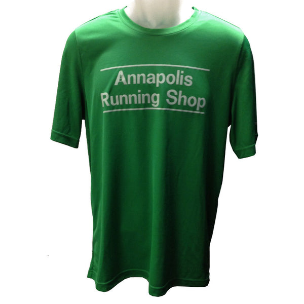 Men's Brooks ARS Technical T-Shirt - Gator Green - Annapolis Running Shop