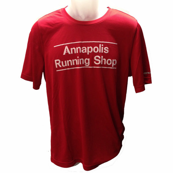 Men's Brooks ARS Technical T-Shirt - Red - Annapolis Running Shop