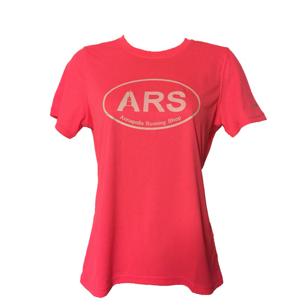Women's Brooks ARS Technical T-Shirt - Hi Vis Pink