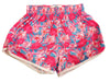 Womens Pink Crab Split Shorts Artist - Annapolis Running Shop