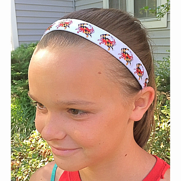 Maryland Crabby Athletic Running Headband