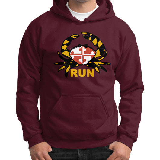 Men's Crabby Runner Hoodie Sweatshirt - Annapolis Running Shop