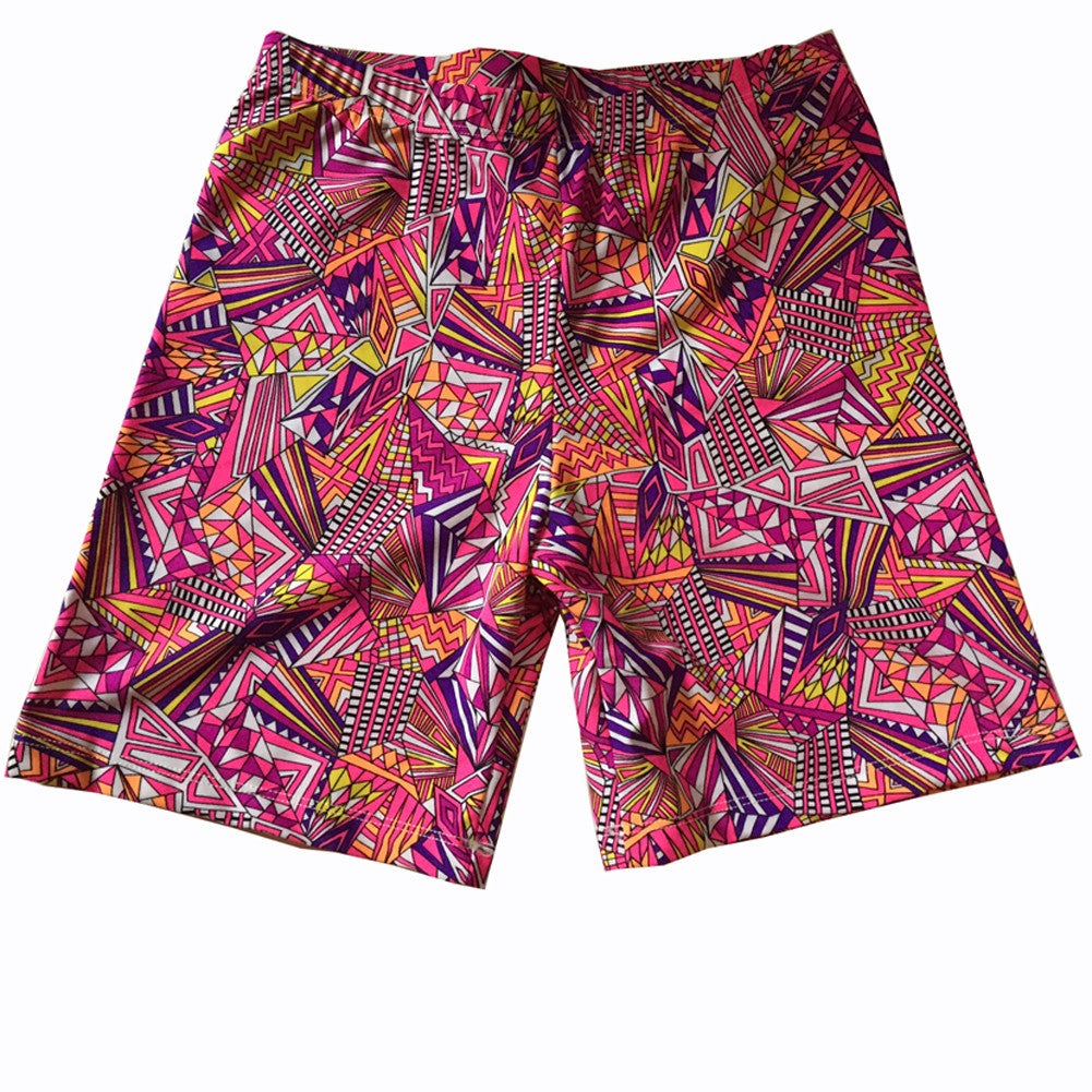 Razzle Dazzle Compression Shorts