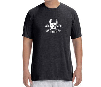 "Men's Short Sleeve Performance ""Danger Run"" T-Shirt - Annapolis Running Shop"