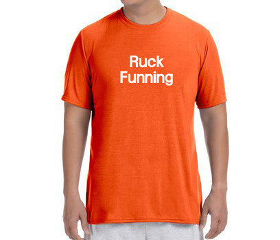 "Men's Short Sleeve Performance ""Ruck Funning"" T-Shirt - Annapolis Running Shop"