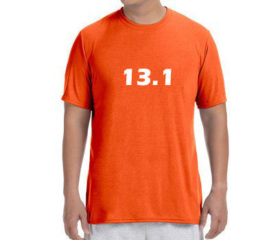 "Men's Short Sleeve Performance ""13.1"" T-Shirt - Annapolis Running Shop"