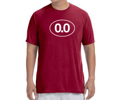 "Men's Short Sleeve Performance ""0.0"" T-Shirt - Annapolis Running Shop"
