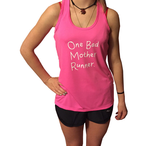 One Bad Mother Runner Tank
