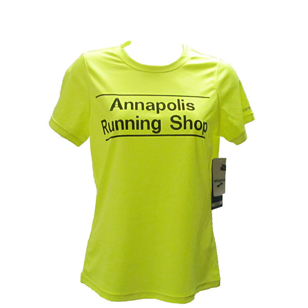 Women's Brooks ARS Technical T-Shirt - Hi Vis Yellow