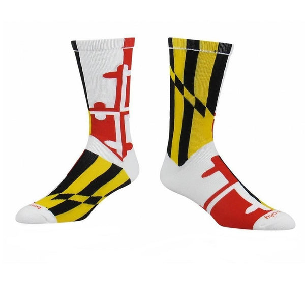 Maryland Flag Athletic Running Socks - Annapolis Running Shop