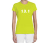 "Women's Short Sleeve Performance ""13.1"" Technical T-Shirt - Annapolis Running Shop"