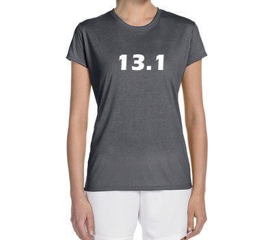 "Women's Short Sleeve Performance ""13.1"" Technical T-Shirt"