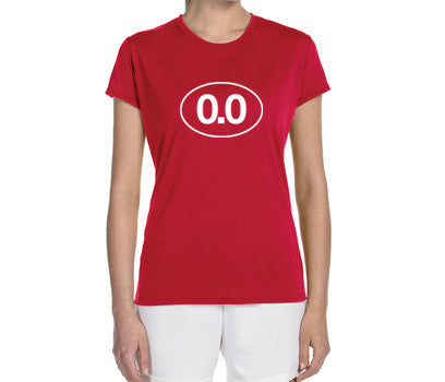 "Women's Short Sleeve Performance ""0.0"" Technical T-Shirt - Annapolis Running Shop"