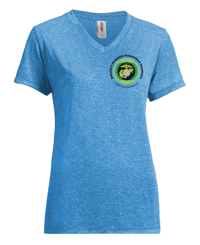Women's Giveaway Heather V-Neck