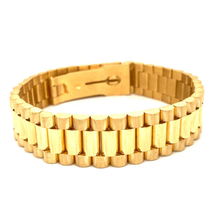 Yellow Gold Plated Bracelets