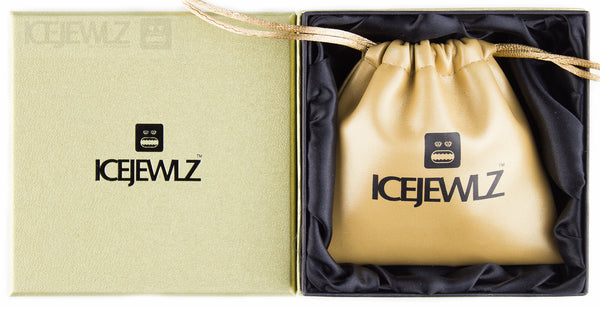 Mr Icejewlz Pendant (yellow & white) - IceJewlz - 3