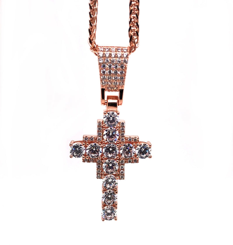 IceJewlz Cross Pendant