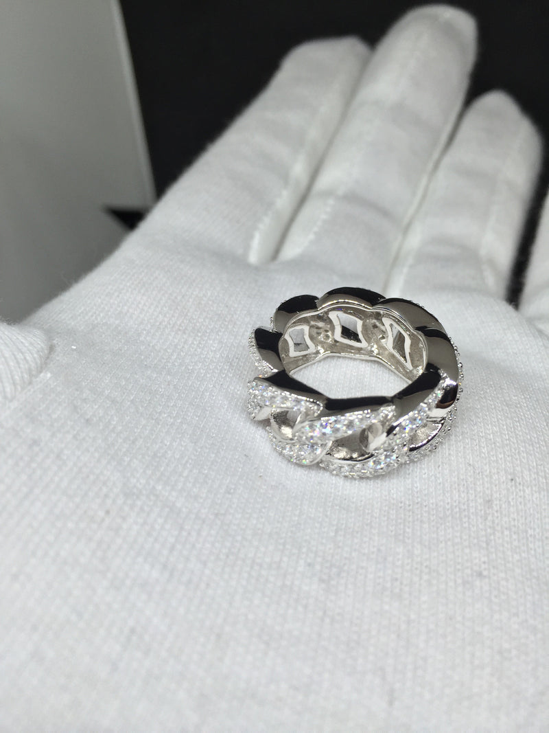 Curb design  ring - IceJewlz - 3