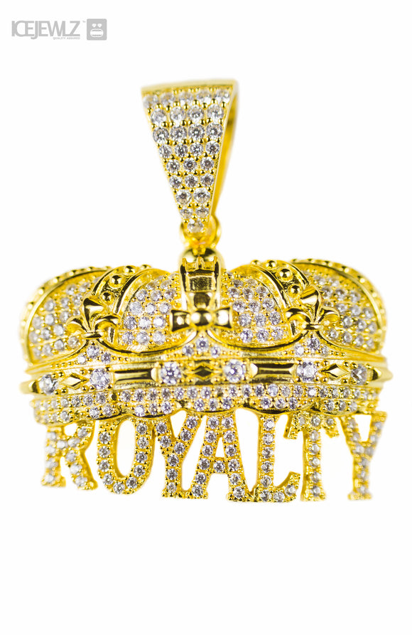 Royalty Micro pendant (Gold plate)