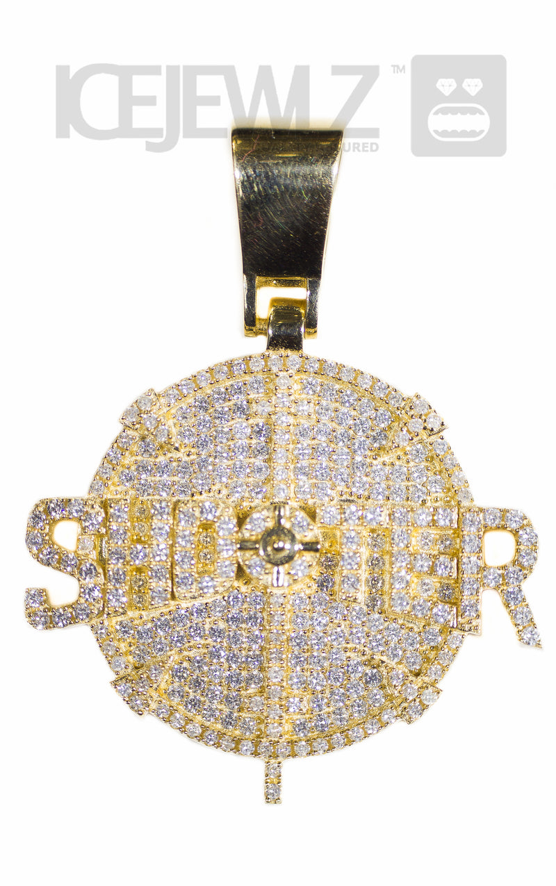 Shooter Pendant (Yellow Gold)