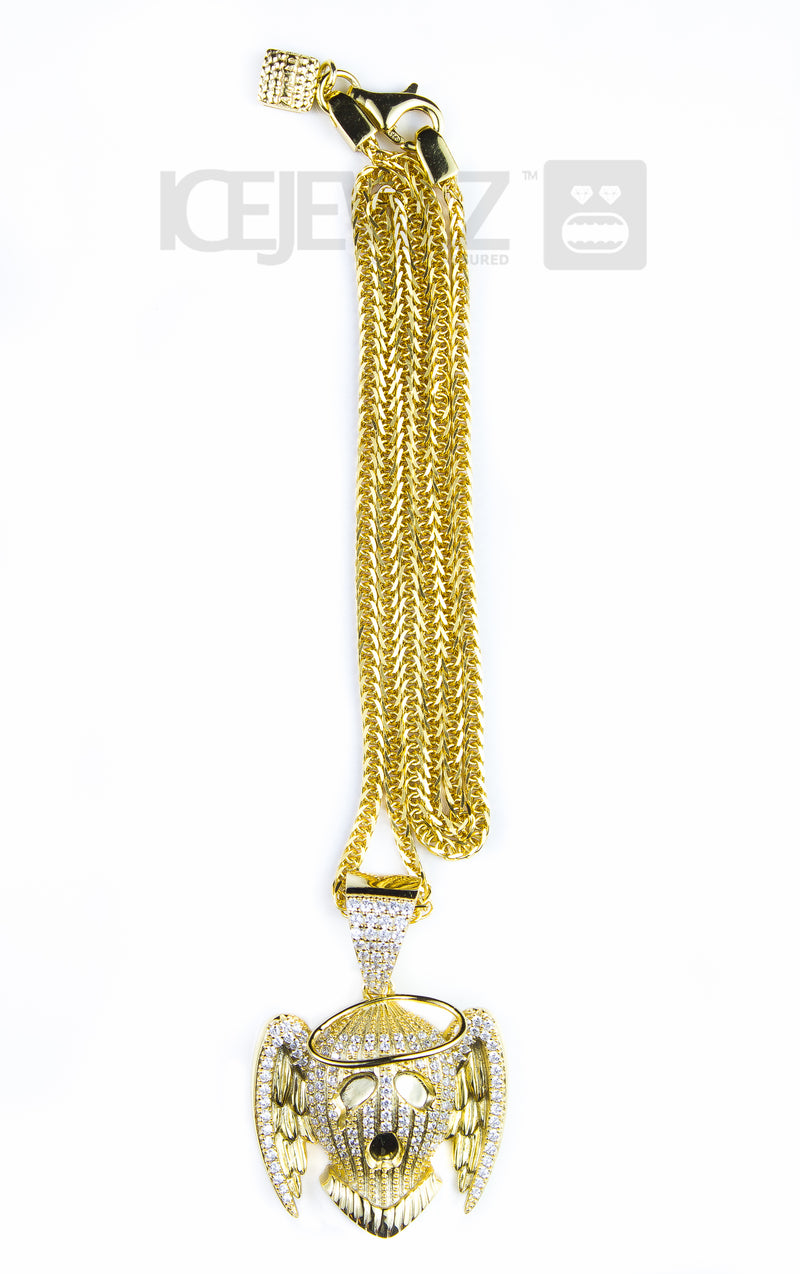 Gangsters paradise micro pendant (Gold plate)