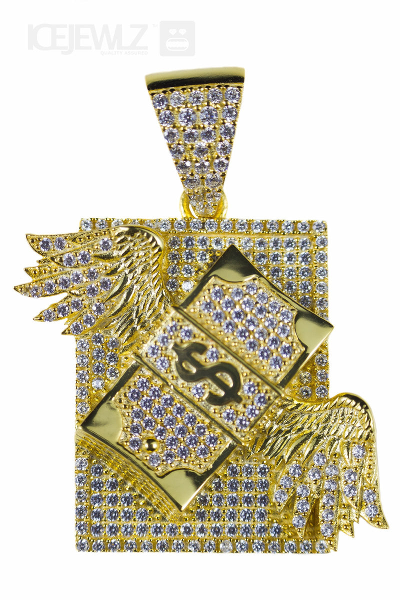 Flying Money Micro Pendant