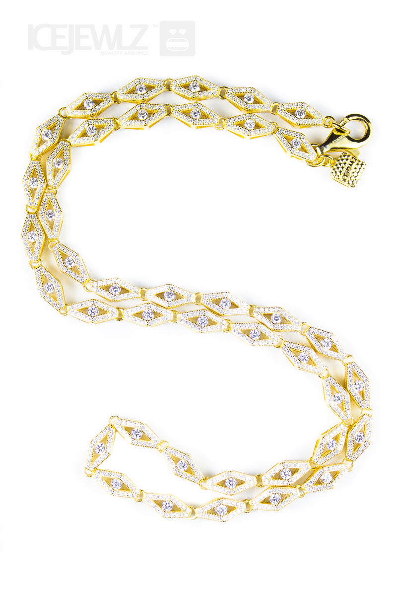 Marvin Chain (short version) Gold plate