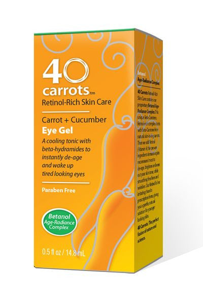 40 Carrots - Carrot and Cucumber Eye Gel